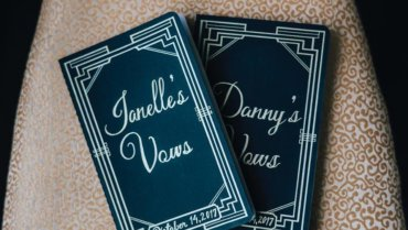 Why Personalized Vows Books are a Must at your Wedding